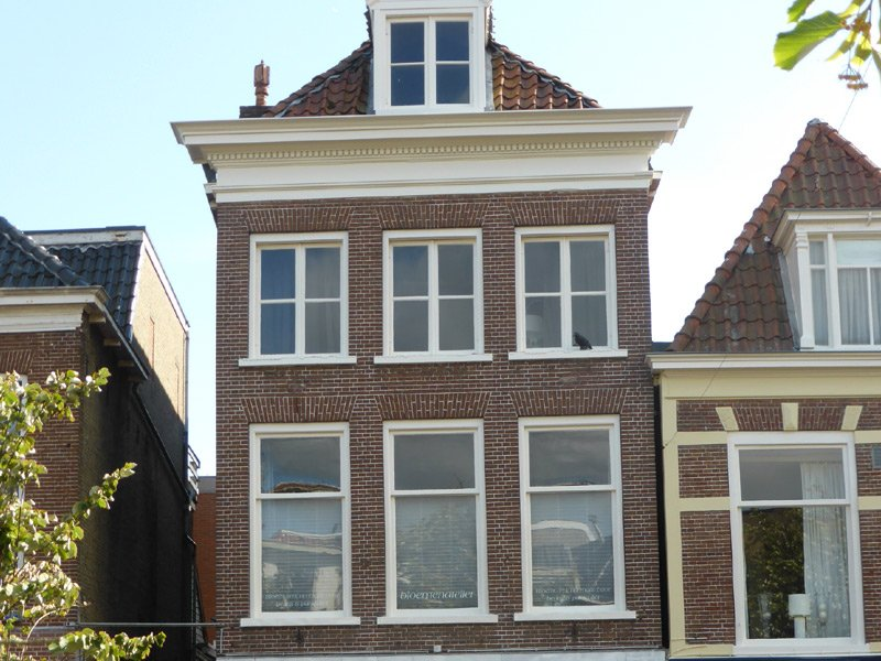 Schildwerk bovenwoning Nieuwestad Leeuwarden 1
