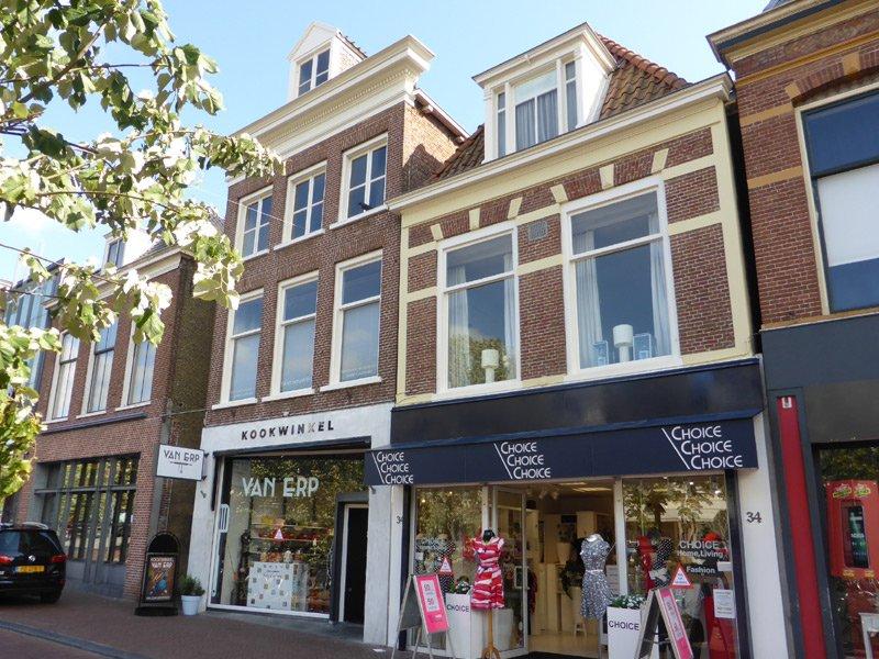 Schildwerk bovenwoning Nieuwestad Leeuwarden 3