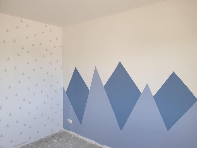 Creatief met behang 2